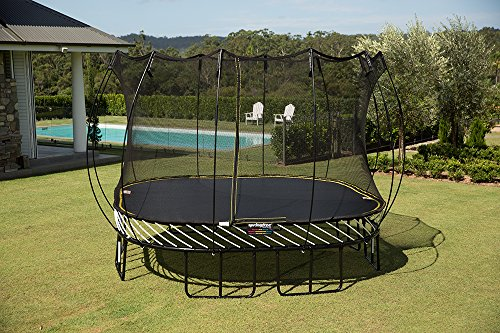 ... it was only because it did not suit my backyard needs. If you have  space constraints, this is probably the best outdoor trampoline for you. - The Best Trampoline With Enclosure Review Guide 2018 My Trampoline