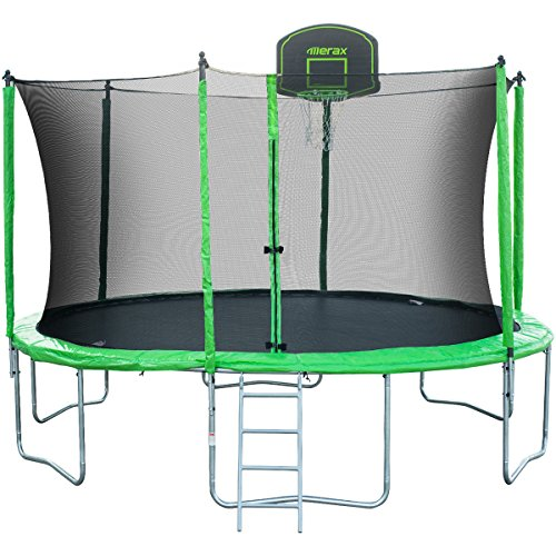Review Jumpsport Elite Basketball Trampoline Package: The Best Trampoline With Enclosure Review Guide 2019