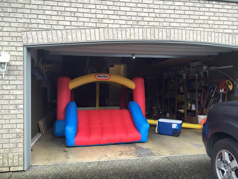 Bounce House by Little Tykes with slide