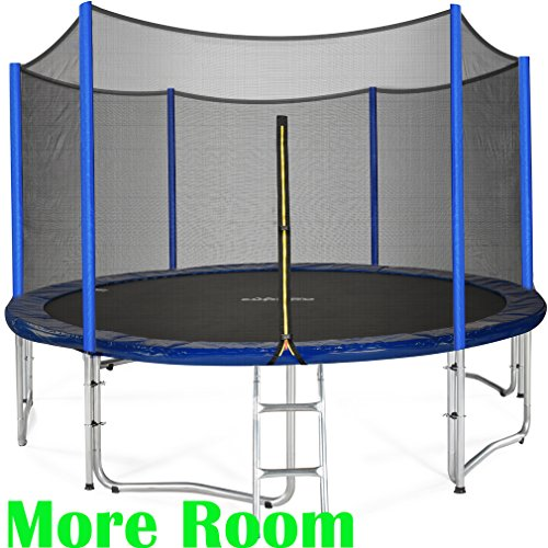 Safest Top Rated Trampolines: The Best Trampoline With Enclosure Review Guide 2019