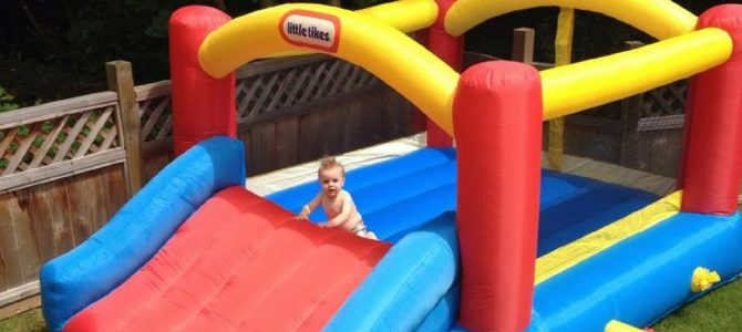 Our First Bouncey Castle