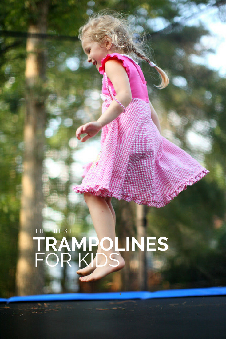 The Best Trampoline for Kids for your backyard | #backyard #summer #trampoline #kids #summerhacks #summerbreak