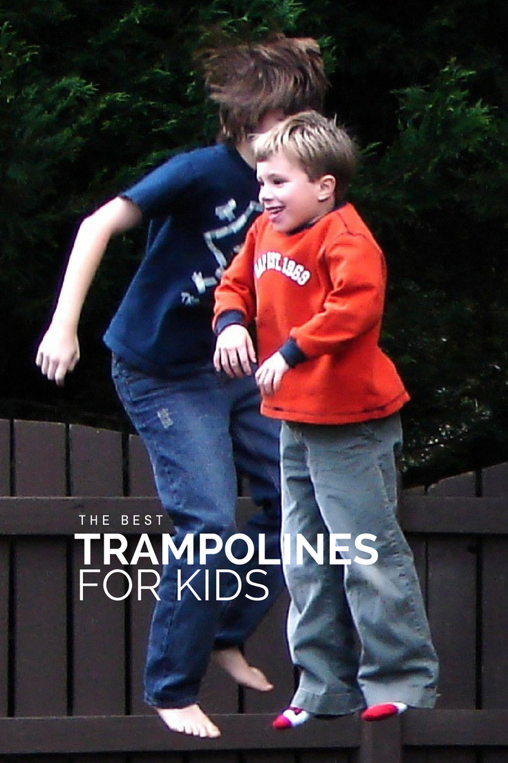 The Best Trampolines for Kids | Summer Break Things to Do with Kids | #trampolines #summer #summerbreak #kids #family