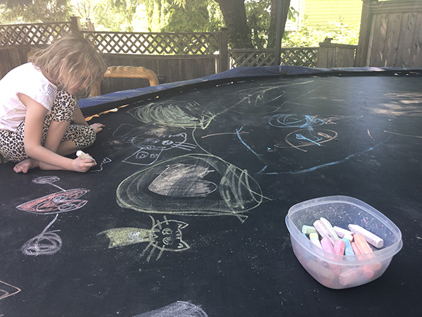 Activities to do on a Trampoline with Kids