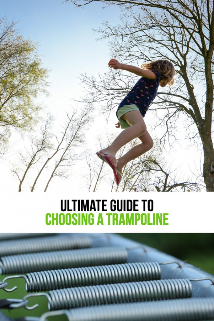 A Guide to choosing the right backyard trampoline for your family!