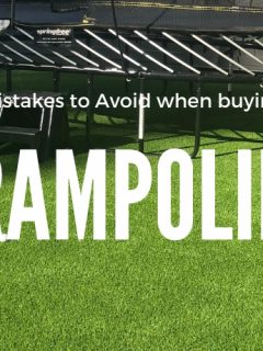 How to choose a trampoline for your backyard