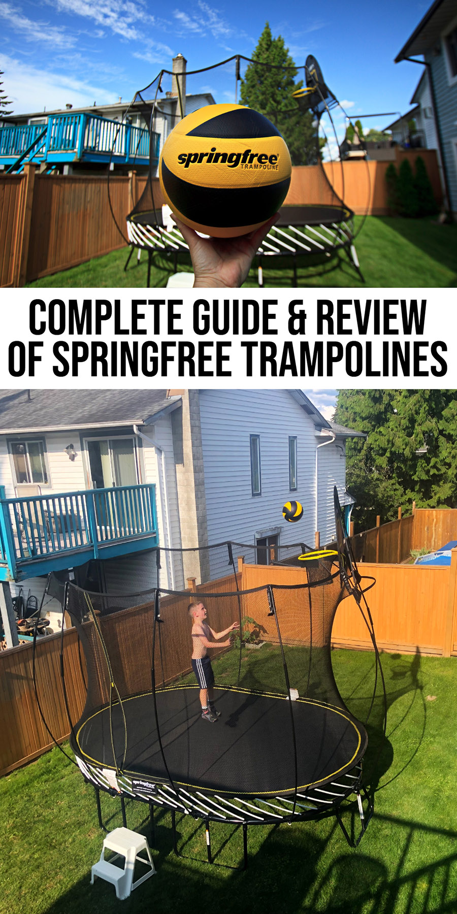 Springless Trampoline Review of Spring free