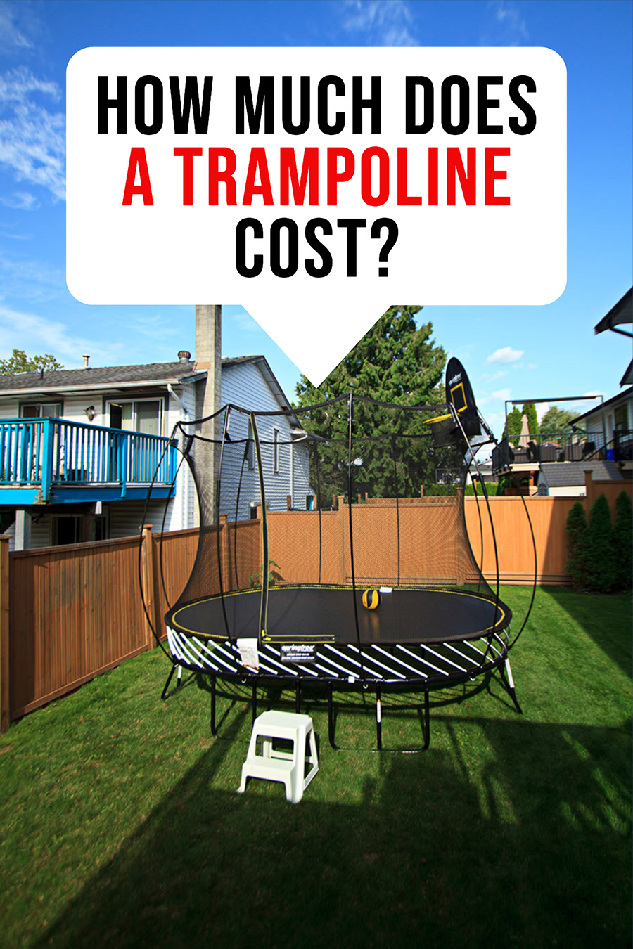 How much does a trampoline cost to buy