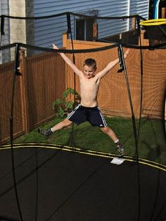 How to Clean your Trampoline
