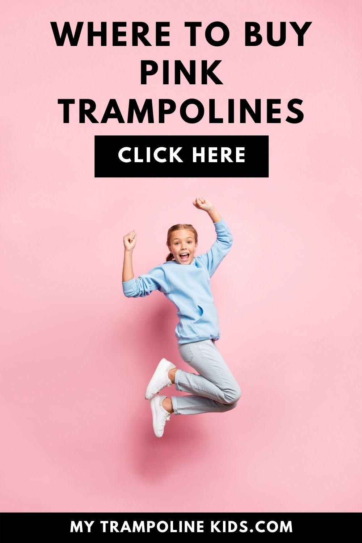best pink trampolines