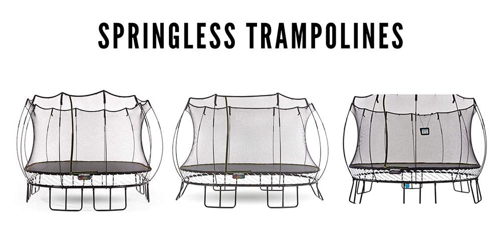 Best springless trampolines.